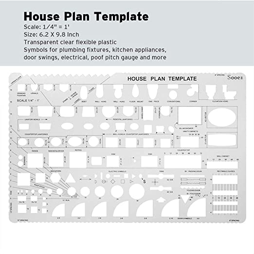 Education Crafts Teaching Materials Furniture Template Sooez Architectural Templates Interior Design Template Drawing Template Kit 1 4 Scale Drafting Tools And Supplies House Plan Template Template Architecture Kit Brif Rs,Silhouette Designer Edition Plus