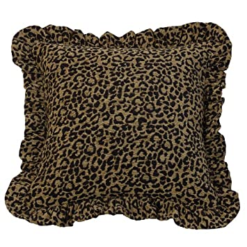 HiEnd Accents San Angelo Leopard Print Pillow