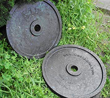 Hitechplates USA-Made 5 LB. Weightlifting Technique Plates Pair