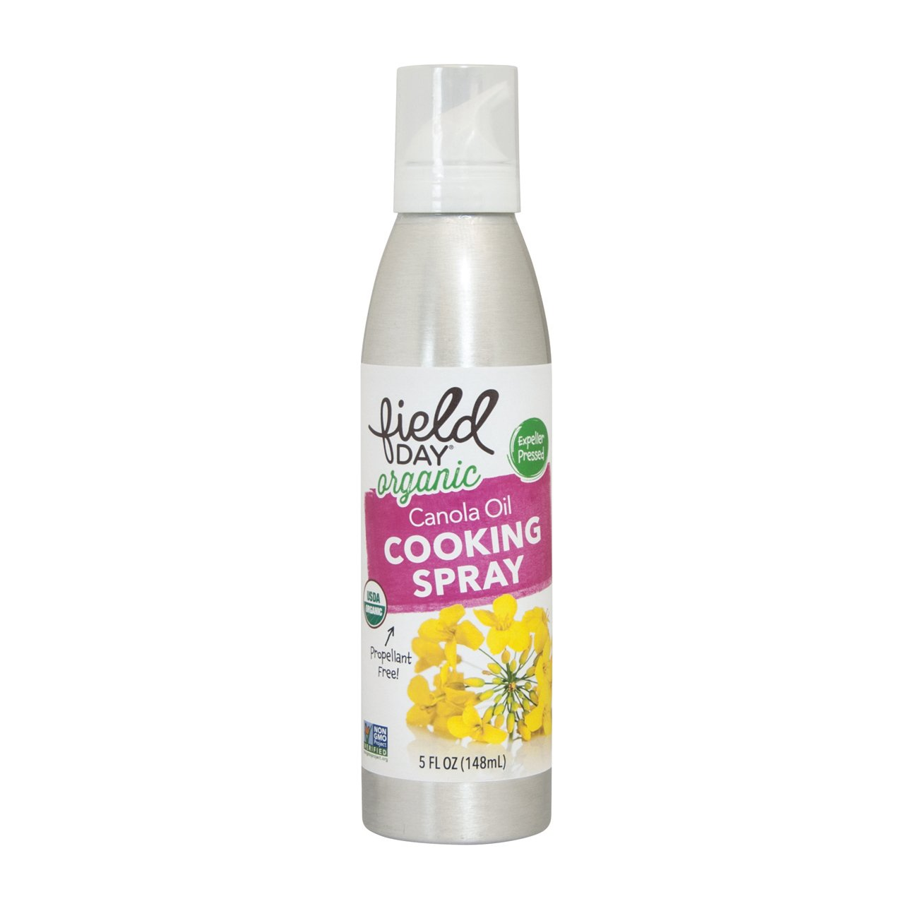 Field Day Organic Canola Oil Cooking Spray, 6 Count