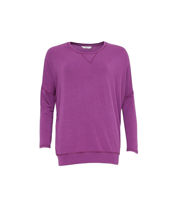 Cyberjammies 3837 Womens Fiona Magenta Purple Pajama Pyjama Top