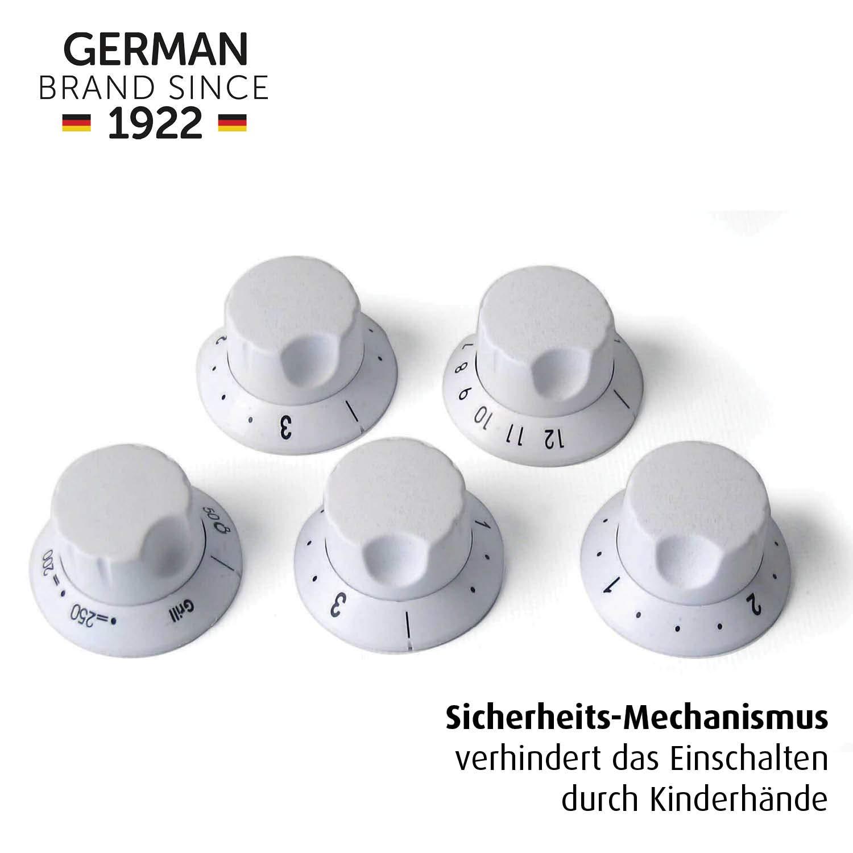 5 Stück Reer 7998 Herdschutzknopf Set