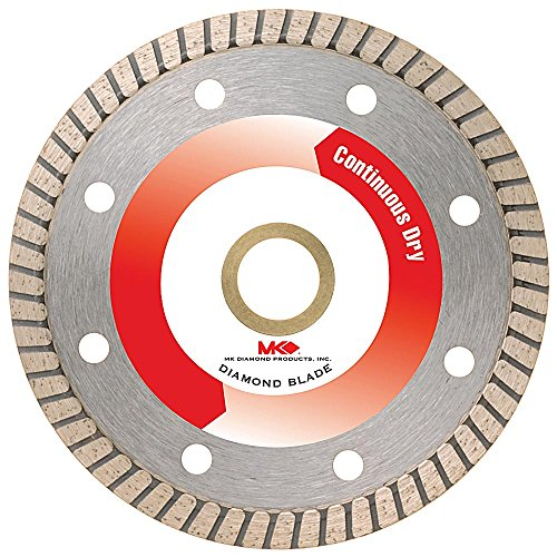 MK Diamond 160970 MK-250GXT 4-Inch Premium Turbo Rim Dry Cutting Blade