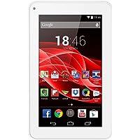 """Tablet M7S Quad Core Android 4.4 Kit Kat Dual Câmera Wi-Fi, Multilaser, NB185, 8 GB, 7"""", Branco"""