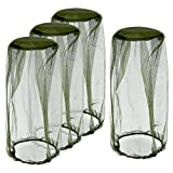 OPount 4 Pieces Mosquito Mesh Head Net Suitable for Outdoor Fishing, Hiking, Beekeeping and Gardening For Sale
