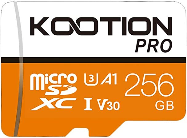Kootion 256gb Micro Sd Karte Uhs I Speicherkarte U3 Computer Zubehör
