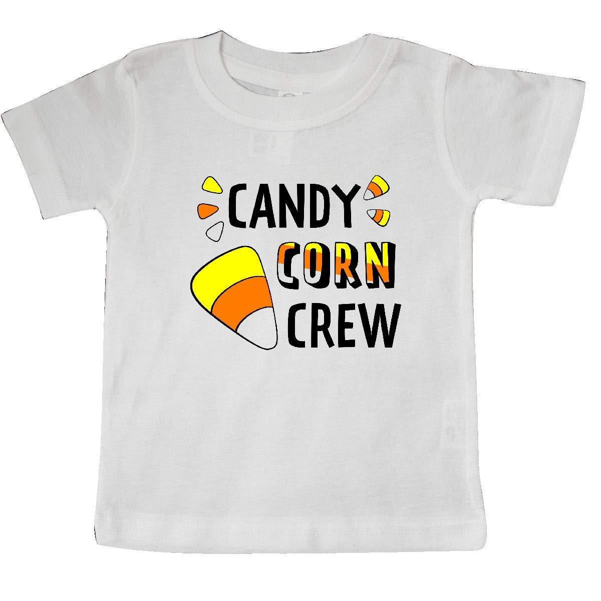 inktastic Candy Corn Crew for Halloween Baby T-Shirt