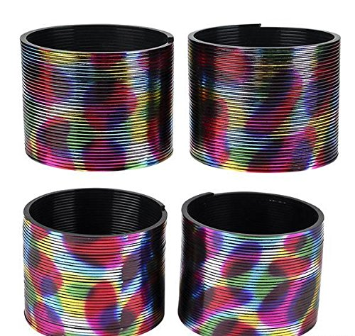 3'' METALLIC RAINBOW COIL SRRING, Case of 120
