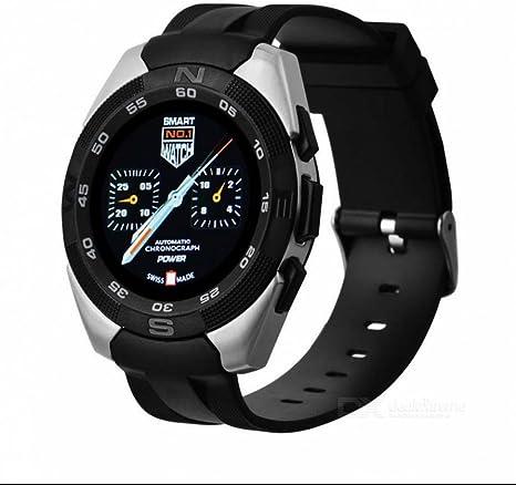 Bluetooth deporte reloj inteligente reloj teléfono, rastreador de actividad Smart Montres connectées reloj deporte podómetro Bluetooth reloj, compatible para Android Smartphone Samsung Sony Blackberry HUAWEI: Amazon.es: Deportes y aire libre