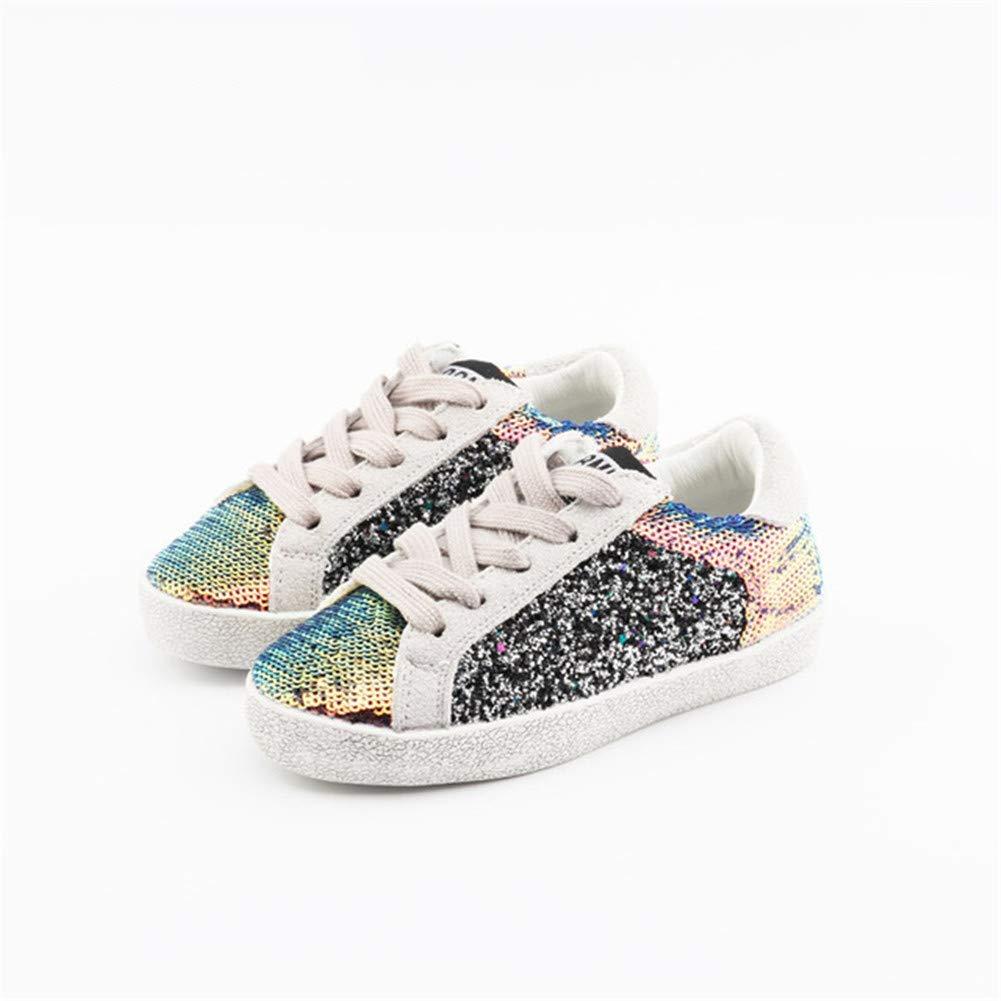 LONIY Children Sequin Sneakers Baby Boy Casual Sneaker Kid Girl Shoe