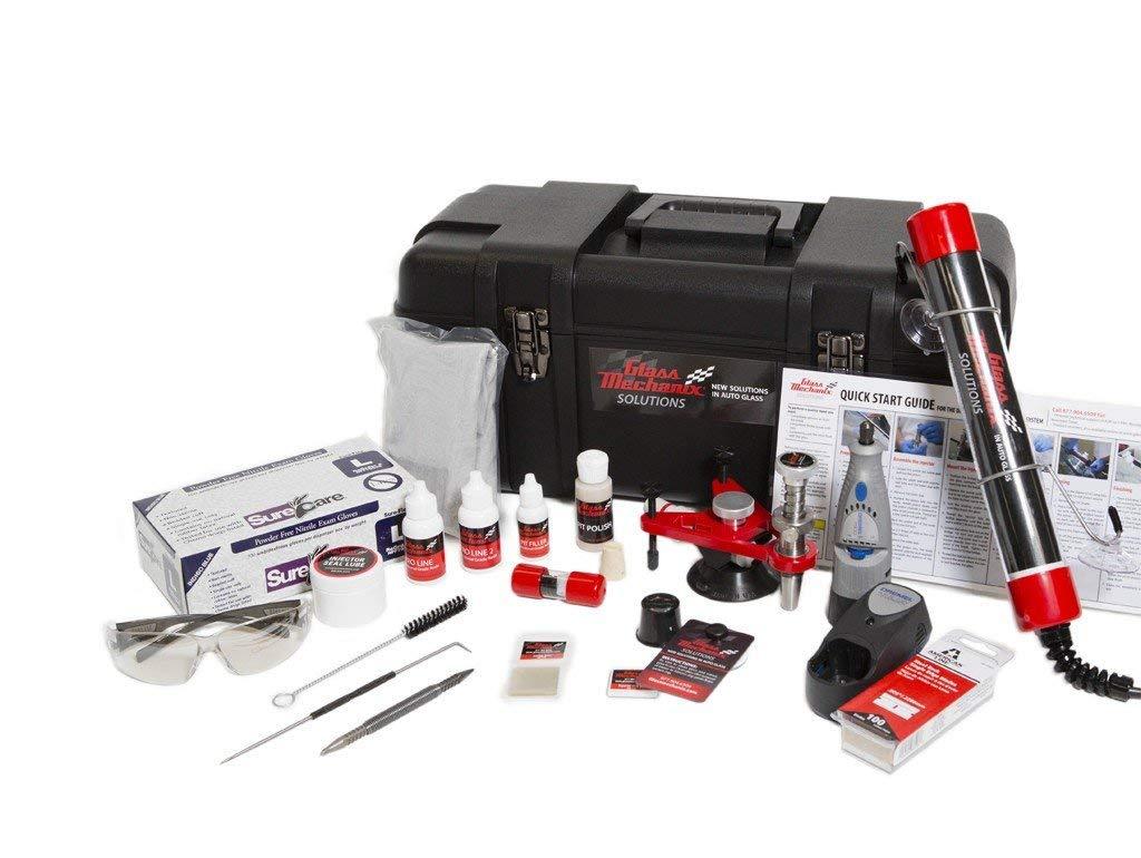 Glass Mechanix Windshield reapir kit Daytona Windshield Repair System