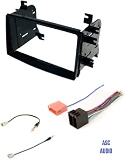 amazon com asc car stereo radio install dash kit, wire harness, and 2012 Kia Rio Engine Labelled asc car stereo radio install dash kit, wire harness, and antenna adapter for installing