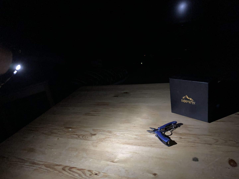 Camo Kopwin Paracord Survival Bracelet Set and Led Light Set of 2 Magnesium Flint Fire Starter Paracord Bracelet with Compass Emergency Whistle Bonus Keychain Multitool Included