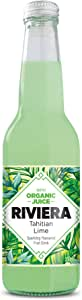 Riviera Sparkling Fruit Drink, Tahitian Lime, 18 x 330 ml