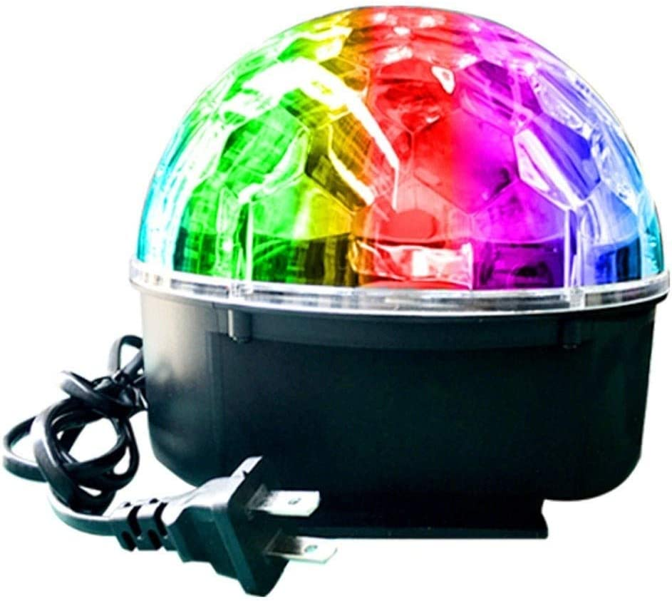 9 Color Led Crystal Magic Ball Light Voice Control Rotating Colorful Lights Flash Color Christmas Small Lights Stage disco light A1 Disco Kugel