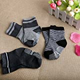 6 Pairs Anti Slip Soft Cotton Ankle Toddler Socks