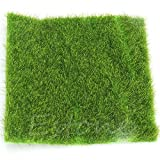 Poity Artificial Garden Grass Lawn Moss Miniature Craft Pot Fairy Dollhouse Decor DIY 30 x 30 cm
