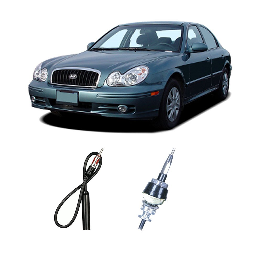 Amazon.com: Fits Hyundai Sonata 1989-2005 Factory Replacement Radio Stereo  Custom Antenna: Car Electronics