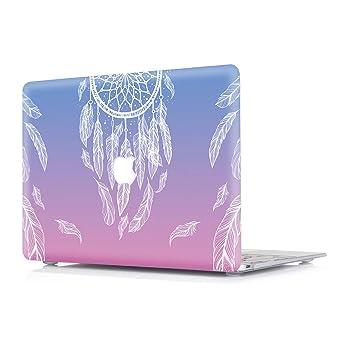RQTX Funda Apple MacBook Pro 15,4 Pulgadas Portátiles Accesorios Plástico Rígida Cover Protección Carcasa (2015) Modelo A1398 con Pantalla ...
