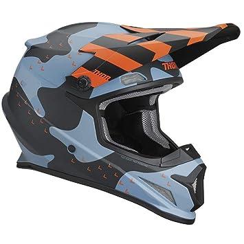 Thor Sector Mosser 2019 - Casco para Motocross, Multicolor, XS (53-54