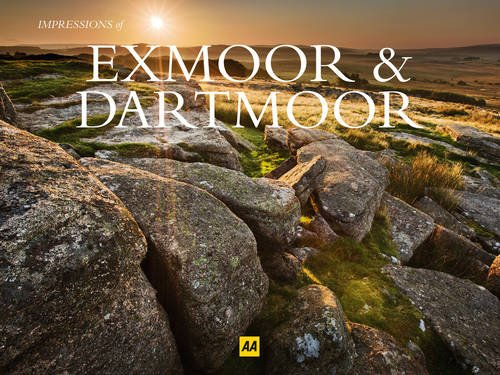 Exmoor and Dartmoor (AA Impressions of Series)