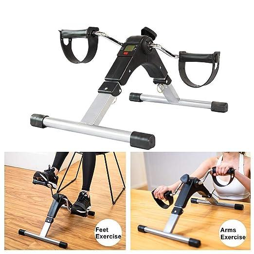 WYJJJJJ Fitness Machine Pedal Ejercitador Plegable Mini Bicicleta ...