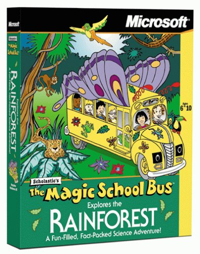 Magic School Bus Explores the Rainforest [Old Version]