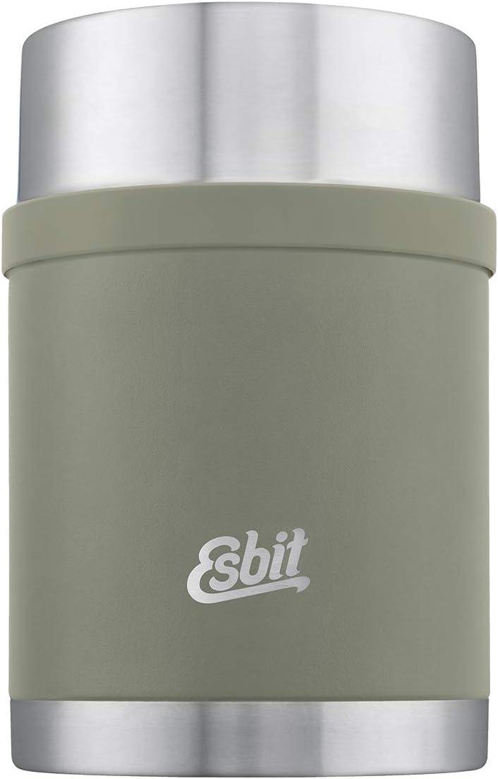 Esbit Sculptor Thermal container, 750 ml, Steingrau