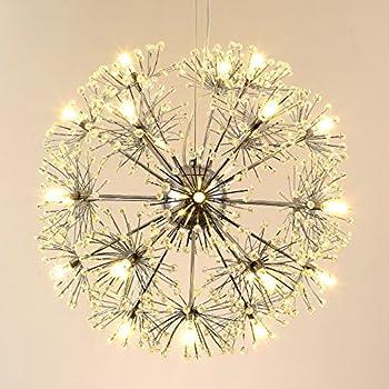 Ikea modern ceiling pendant lamp 32 inch diameter ps maskros seol light modern crystal chandeliers pendant lamp for corridor veranda bedroom bathroom dining roomliving room retro creative dandelion fixture with audiocablefo