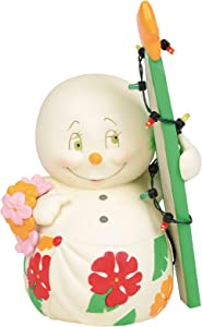 Department 56 Snowpinions Surf's Up Figurine, 6.5 Inch, Multicolor
