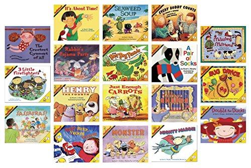 School Specialty MathStart Book Set, Grades 1 - 2, Set of 18 by MathStart