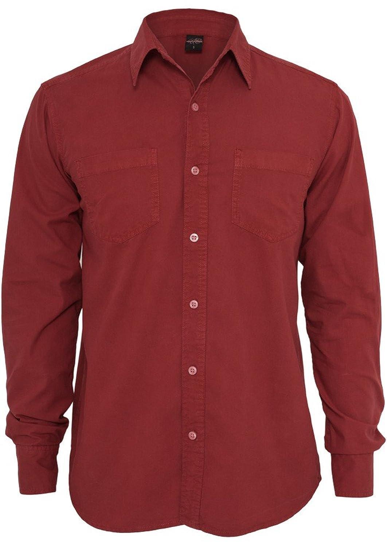 Urban Classics Pigment Dye Shirt Longsleeve Shirt