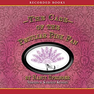 The Case of the Peculiar Pink Fan Audiobook