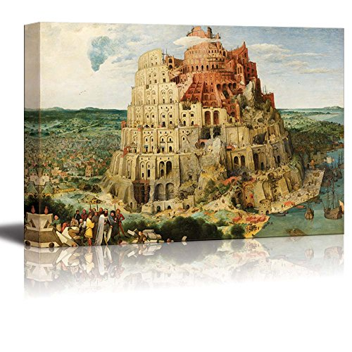 The Tower of Babel (Vienna) by Pieter Bruegel the Elder Print Famous Painting Reproduction