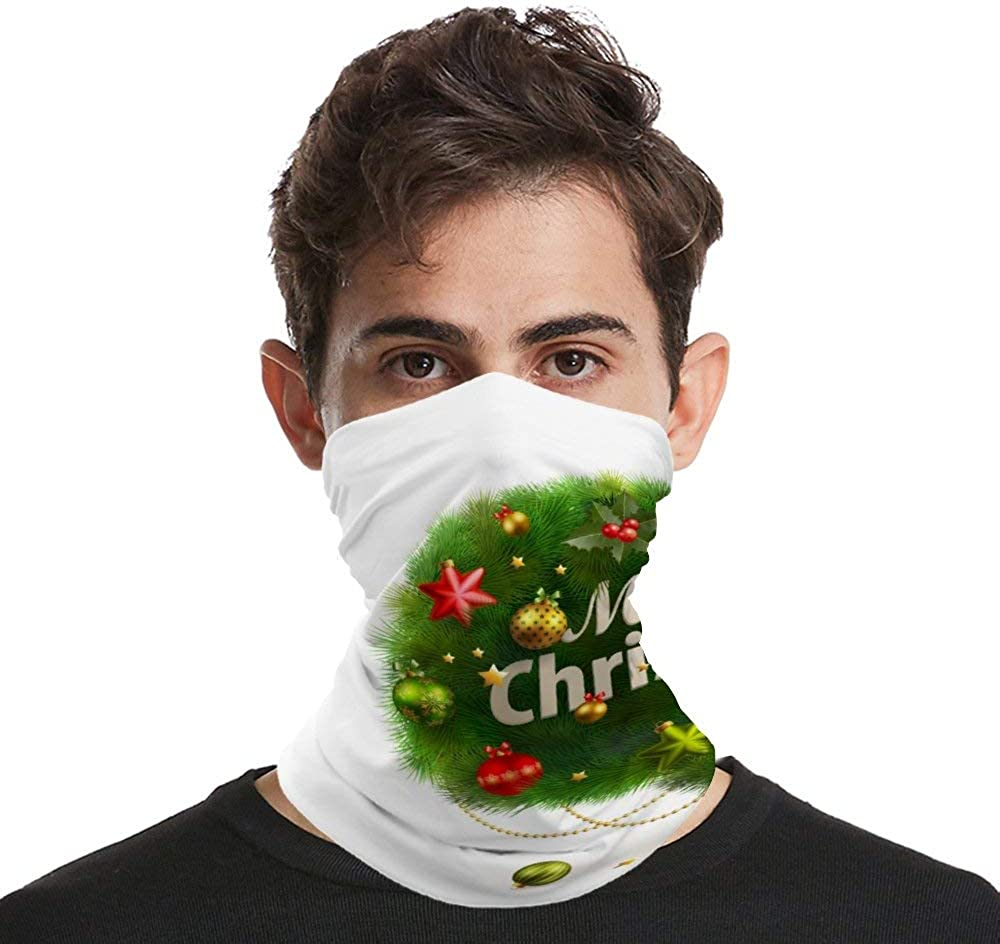 Cool Funny Xmas Camping Outdoor Headwear Halloween Scarf For Him Her Boys Gifts