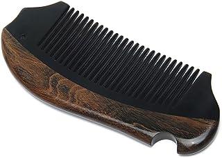 GUO Hecha a mano peine de cuerno natural de cuidado de la madera antiestático madera wexe.com