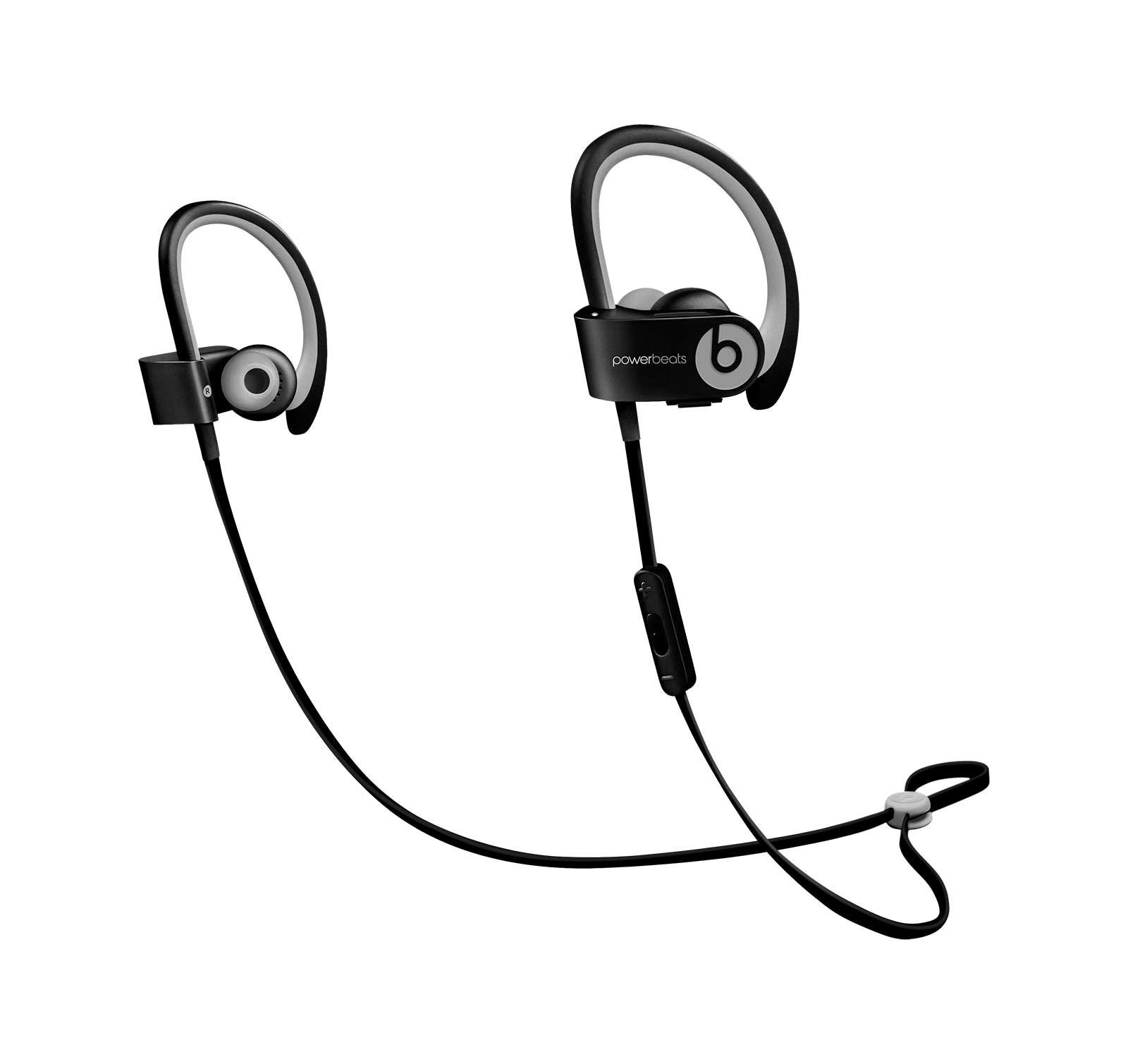 Beats by Dr dre Powerbeats2 Wireless In-Ear Bluetooth Headphone with Mic - Sports Black (Renewed) by Beats