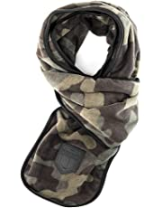 BioScarf - Cold Weather Scarf with Built-in Reusable Particulate N95 Air Filter for Smoke, Pollution and Dust