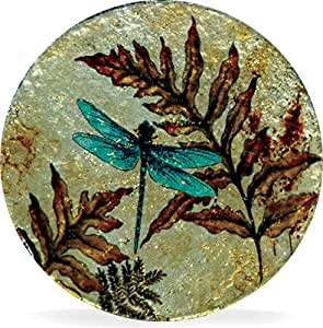 Angelstar 19168 Dragonfly Spirit Coasters (Set of 4), 4""