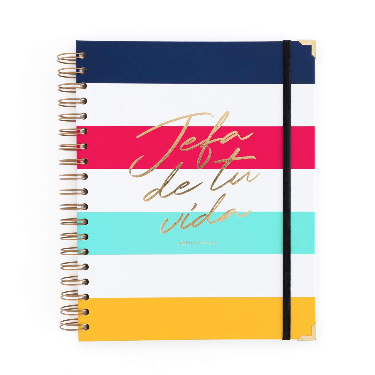 Amazon.com : 19-20 Week to View Diary Head Stripes Large ...