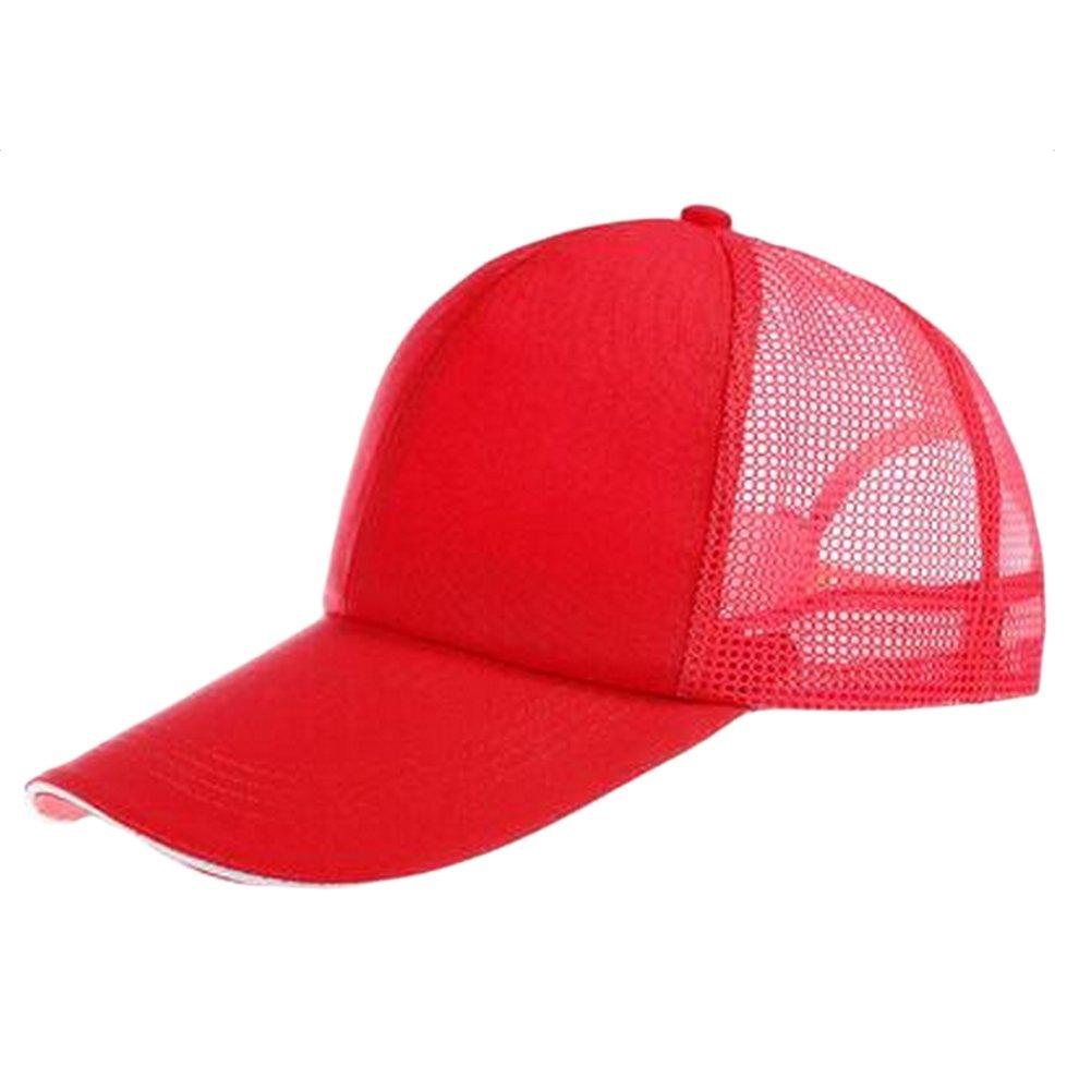Da.WA cappellino da baseball visiera Nero con rete sul retro