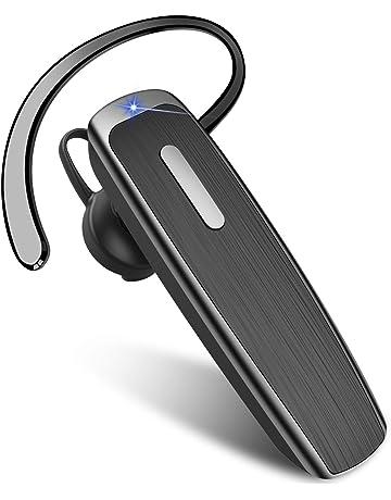 LG Sony Sumsung Oreillette Bluetooth Samnyte /Écouteur Bluetooth Sans Fil Handy Voiture MINI avec Microphone Casques 9 Heures Talk Mains Libres Dans Mono Oreillette Adapt/é pour iPhone Android Huawei