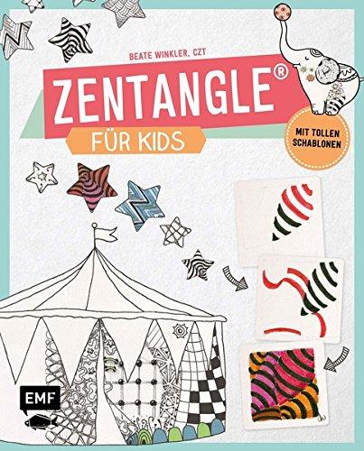 Zentangle für Kids: Mit tollen Schablonen!