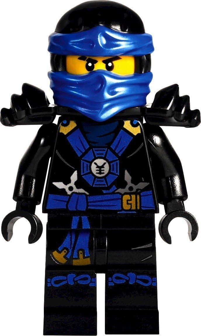 LEGO Ninjago: Minifigur Deepstone Jay aus dem Set 70751 NEU