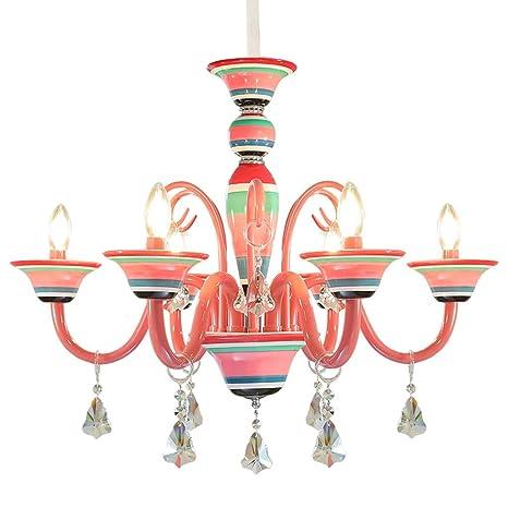 Iluminación Lámpara de Vela Americana Europea para niños ...