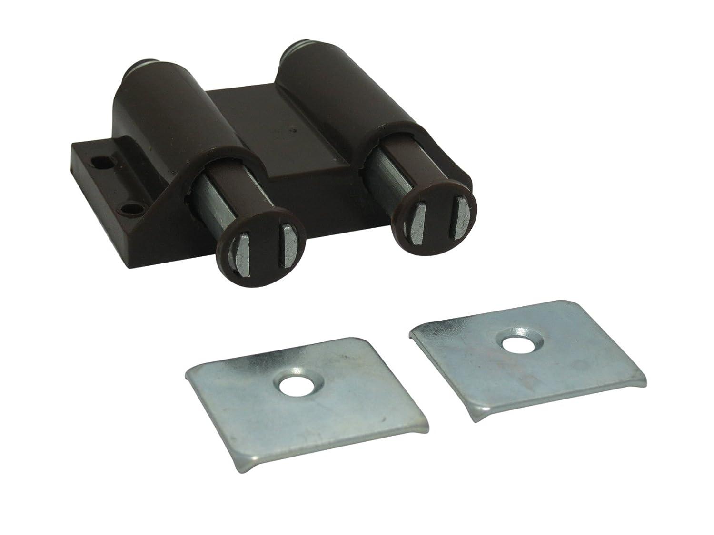10 x Magnet Druckschnäpper Druck Möbelschnäpper Schnäpper Federschnäpper weiß SAMWERK