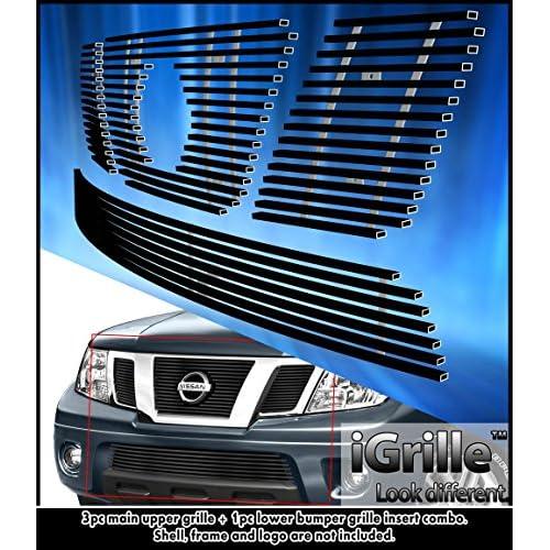 Fits 07-10 Hyundai Elantra Sedan Stainless Steel Mesh Grille Grill Combo Insert