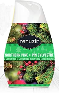 Renuzit Holiday Air Freshener Northern Pine Pin Sylvestre Scented Gel Limited Edition, 7 Ounce (Pack of 2)