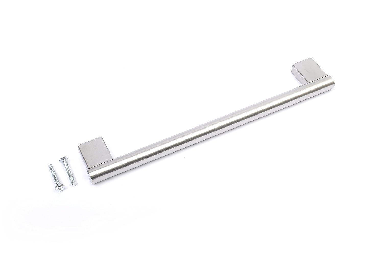 Barras de acero inoxidable para tirador de armario de cocina o ba/ño 128 mm