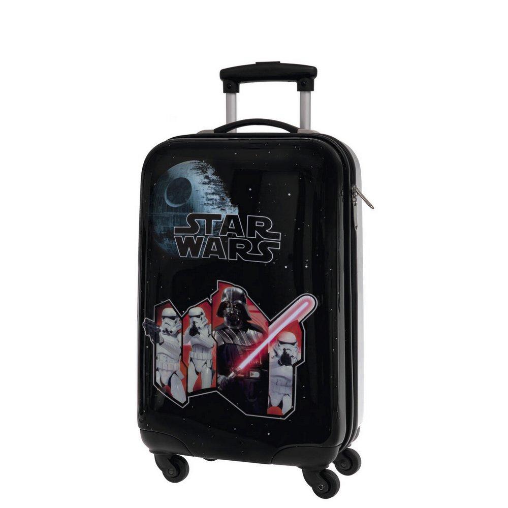 STAR WARS Cabin Trolley Children's Luggage, 33 Liters, Black